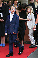 KNOX JOLIE-PITT, ANGELINA JOLIE AND VIVIENNE JOLIE-PITT - RED CARPET OF THE FILM 'FIRST THEY KILLED MY FATHER' - 42ND TORONTO INTERNATIONAL FILM FESTIVAL 2017