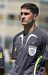 22 July 2007: Referee Alberto Undiano Mallenco (ESP). At the National Soccer Stadium, also known as BMO Field, in Toronto, Ontario, Canada. Argentina's Under-20 Men's National Team defeated the Czech Republic's Under-20 Men's National Team 2-1 in the championship match of the FIFA U-20 World Cup Canada 2007 tournament.