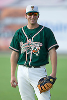 Ben Lasater #23 of the Greensboro Grasshoppers at Fieldcrest Cannon Stadium June 13, 2009 in Kannapolis, North Carolina. (Photo by Brian Westerholt / Four Seam Images)