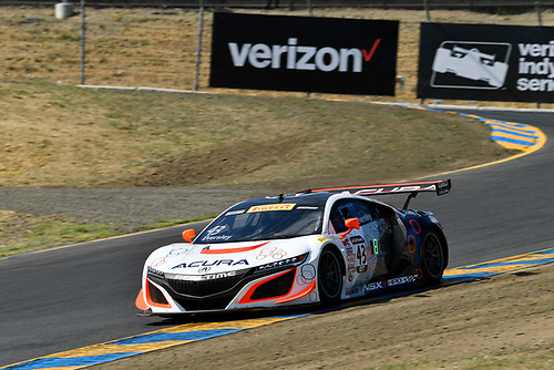 Pirelli World Challenge<br /> Grand Prix of Sonoma<br /> Sonoma Raceway, Sonoma, CA USA<br /> Friday 15 September 2017<br /> Ryan Eversley<br /> World Copyright: Richard Dole<br /> LAT Images<br /> ref: Digital Image RD_NOCAL_17_022