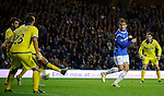 Nikica Jelavic scores the opener for Rangers