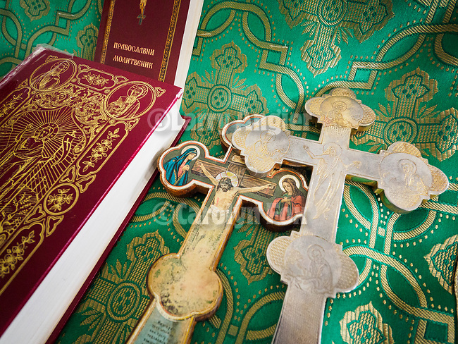 Crosses and Bibles. Patriarchal Divine Liturgy service with His Holiness Irinej to venerate and glorify the relics of St. Mardarije of Libertyville, St. Sava Monastery Church<br /> <br /> #NGMWADiocese<br /> #GlorificationStMardarije, #Chicago, #PatriarchIrinej, #MetropolitanAmphiloije<br /> #SerbianOrthodoxChurch<br /> #www.stsavamonastery.org