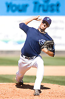 July 25, 2010: Everett AquaSox pitcher Forrest Snow (30) during a Northwest League game against the Salem-Keizer Volcanoes at Everett Memorial Stadium in Everett, Washington.