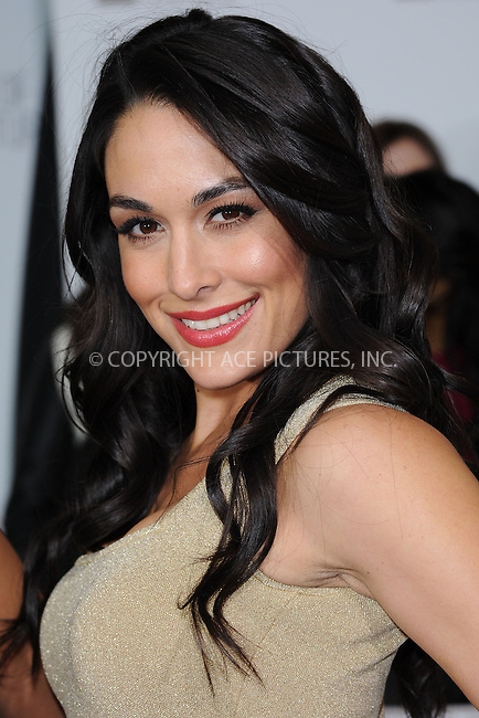 WWW.ACEPIXS.COM . . . . . .April 22, 2013...New York City.... Brie Bella attends the E! 2013 Upfront at The Grand Ballroom at Manhattan Center on April 22, 2013in New York City.....Please byline: KRISTIN CALLAHAN - WWW.ACEPIXS.COM.. . . . . . ..Ace Pictures, Inc: ..tel: (212) 243 8787 or (646) 769 0430..e-mail: info@acepixs.com..web: http://www.acepixs.com .