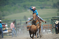VHSRA - Fairfield, VA -  5.17.2015 - Breakaway Roping