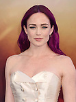 HOLLYWOOD, CA - MAY 25:  Actress Caity Lotz arrives at the premiere of Warner Bros. Pictures' 'Wonder Woman' at the Pantages Theatre on May 25, 2017 in Hollywood, California.