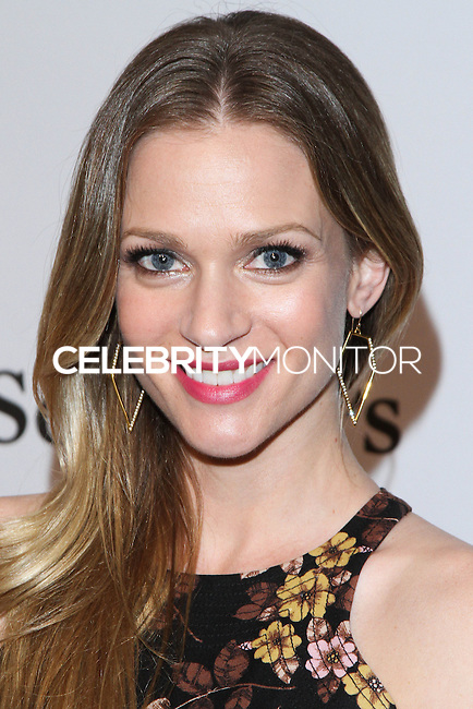 "HOLLYWOOD, LOS ANGELES, CA, USA - FEBRUARY 26: A.J. Cook at The Art Of Elysium's 7th Annual ""Pieces Of Heaven"" Charity Art Auction held at Siren Studios on February 26, 2014 in Hollywood, Los Angeles, California, United States. (Photo by David Acosta/Celebrity Monitor)"
