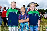 Enjoying the race in Cahersiveen on Sunday were l-r; Katie O'Connell, Katie Foster & Clara Daly.