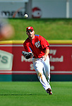 12 March 2012: Washington Nationals outfielder Corey Brown in action during a Spring Training game against the St. Louis Cardinals at Space Coast Stadium in Viera, Florida. The Nationals defeated the Cardinals 8-4 in Grapefruit League play. Mandatory Credit: Ed Wolfstein Photo
