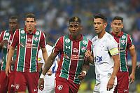 Belo Horizonte (MG). 09.10.2019, Cruzeiro e Fluminense - partida entre Cruzeiro e Fluminense, válida pela 24a rodada do Campeonato Brasileiro, no Estadio Mineirão em Belo Horizonte, MG, nesta quarta feira (09)