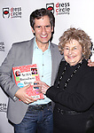 Seth Rudetsky with his mother attend the Seth Rudetsky Book Launch Party for 'Seth's Broadway Diary' at Don't Tell Mama Cabaret on October 22, 2014 in New York City.
