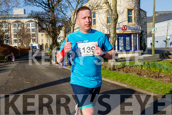 Kieran Flannery, pictured at the Kerry's Eye Valentines Weekend 10 mile road race on Sunday.