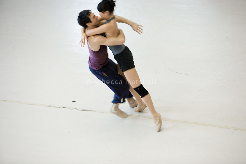 Rehearsals at Les Ballets de Monte Carlo, Beausoleil, France, 3 March 2009