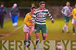 Killarney Celtic's Pa McGarth and Lisselton's Peter K. McCarthy.   Copyright Kerry's Eye 2008