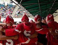 Stanford, California - April 27, 2019: Stanford defeats California 11-9 in the MPSF tournament semi-final at Avery Aquatic Center in Stanford, California.