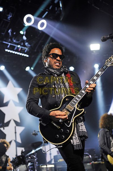 LONDON, ENGLAND - SEPTEMBER 26: Lenny Kravitz performing at itunes Festival, Camden Roundhouse on September 26, 2014 in London, England.<br /> CAP/MAR<br /> &copy; Martin Harris/Capital Pictures