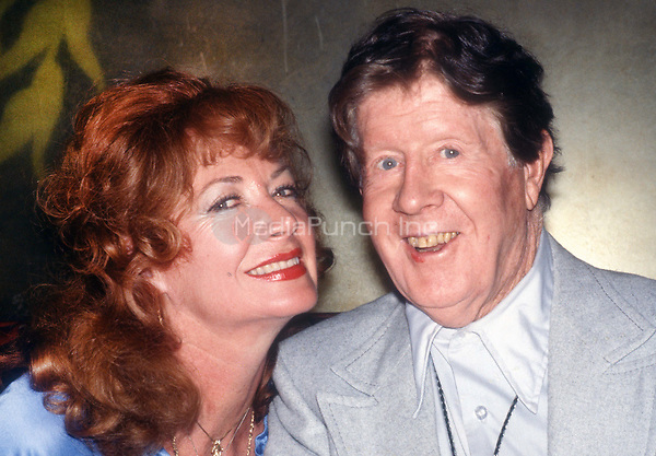Rudy Vall&eacute;e and wife Eleanor Norris 1978<br />