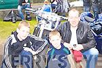 James, Kevin, and Patrick Meegan Kilcummin at the Irish Motorbike rally in the Gleneagle Hotel Killarney on Saturday.