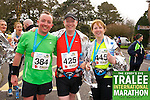 Bryan Sheils 384, Brian White 425, Lorna White 445, who took part in the Kerry's Eye Tralee International Marathon on Sunday 16th March 2014.
