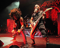 MIAMI BEACH, FL - SEPTEMBER 28: Anthrax performs at the Fillmore on September 28, 2016 in Miami Beach, Florida.  Credit: mpi04/MediaPunch