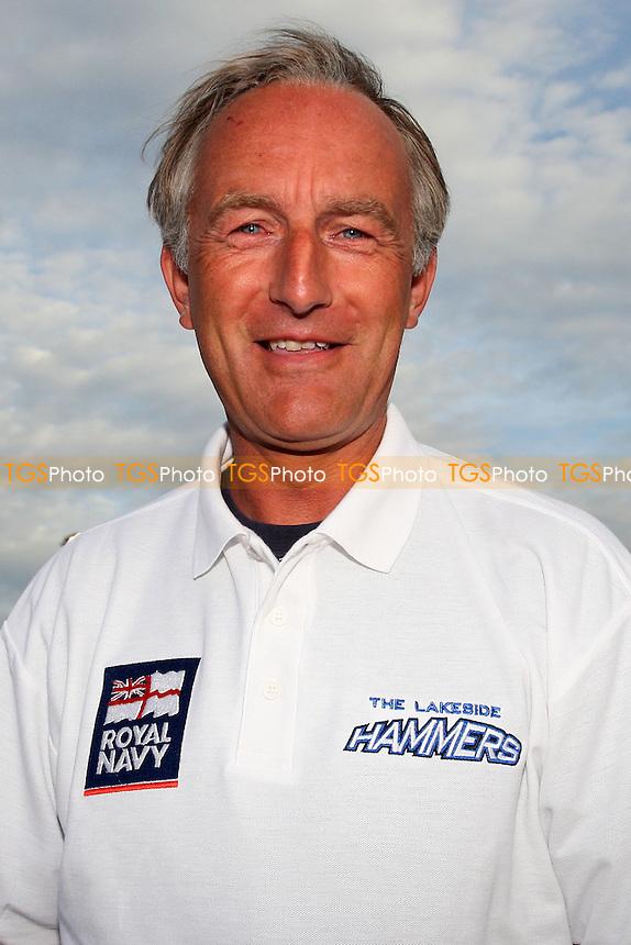 Jon Cook of Lakeside wears a polo shirt - Lakeside Hammers vs Wolverhampton Wolves - Elite League Speedway at Arena Essex Raceway - 16/05/11 - MANDATORY CREDIT: Gavin Ellis/TGSPHOTO - Self billing applies where appropriate - Tel: 0845 094 6026