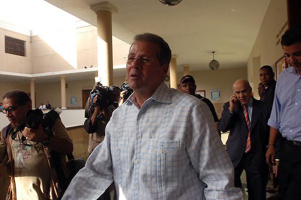 SANTO DOMINGO, REPUBLICA DOMINICANA, Juicio por el caso del fraude bancario BANINTER..Lugar:Palacio de Justicia.Foto:Cesar de la Cruz.Fecha:.