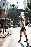 BRAZIL, Rio de Janiero, Shopping in Leblon, Dias Ferrira St.