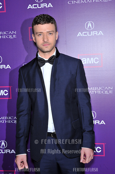 Justin Timberlake at the 23rd American Cinematheque Award Ball at the Beverly Hilton Hotel..December 1, 2008  Beverly Hills, CA.Picture: Paul Smith / Featureflash