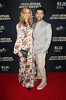 """04 February 2019 - Hollywood, California - Caitlyn Fitzgerald, Aidan Turner. """"The Man Who Killed Hitler and Then the Bigfoot"""" Los Angeles Premiere held at Arclight Hollywood. Photo Credit: Faye Sadou/AdMedia"""