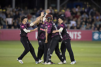 Somerset celebrate a comprehensive win against Essex during Essex Eagles vs Somerset, Vitality Blast T20 Cricket at The Cloudfm County Ground on 7th August 2019