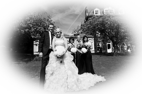 Alison and Jamies wedding day