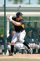 Pittsburgh Pirates outfielder Jerrick Suiter (24) during an Instructional League game against the New York Yankees on September 18, 2014 at the Pirate City in Bradenton, Florida.  (Mike Janes/Four Seam Images)