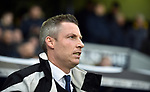Millwall Manager Neil Harris before the start of the championship match at The Den Stadium, Millwall. Picture date 2nd December 2017. Picture credit should read: Robin Parker/Sportimage