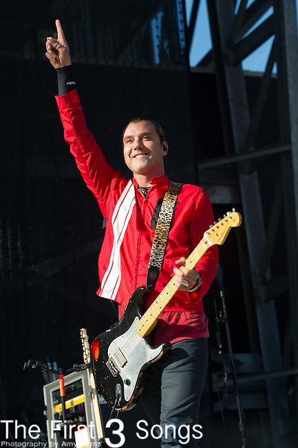 Gavin Rossdale of Bush performs during the 2013 Rock On The Range festival at Columbus Crew Stadium in Columbus, Ohio.