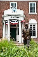 Exterior of the JFK Museum, Hyannis, Cape Cod, Massachusettes, USA