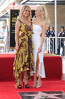 LOS ANGELES - MAY 4:  Goldie Hawn, Kate Hudson at the Kurt Russell and Goldie Hawn Star Ceremony on the Hollywood Walk of Fame on May 4, 2017 in Los Angeles, CA