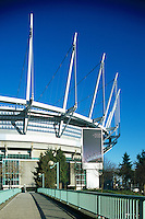 new B.C. Place - Stadium, Downtown Vancouver, British Columbia, Canada.Jan 2012