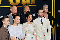 "LOS ANGELES, USA. November 15, 2019: Jaeden Martell, Katherine Langford, Daniel Craig, Ana de Armas, Don Johnson, Chris Evans & Jamie Lee Curtis at the premiere of ""Knives Out"" at the Regency Village Theatre.<br /> Picture: Paul Smith/Featureflash"