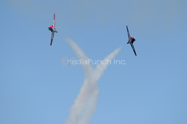 FORT LAUDERDALE, FL - MAY 07: Fort Lauderdale Air Show during Fort Lauderdale Air Show on May 7, 2017 in Fort Lauderdale, Florida. Credit: mpi04/MediaPunch