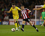 Paul Coutts of Sheffield Utd during the League One match at Bramall Lane Stadium, Sheffield. Picture date: September 27th, 2016. Pic Simon Bellis/Sportimage