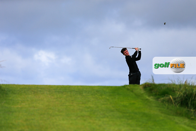 Rory Williamson (Holywood) during the last 16 of the South of Ireland from Lahinch golf club, Lahinch, Co. Clare, Ireland. <br /> Picture: Fran Caffrey / Golffile