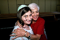 Joy Soloman's Bat Mitzvah, April 27, 2002. (photo by Pico van Houtryve)