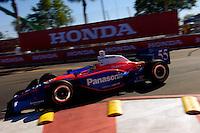 Honda Grand Prix of St. Petersburg, 3 April, 2005.Kosuke Matsuura into Honda Corner..Copyright©F.Peirce Williams 2005.  ref.Digital Image Only