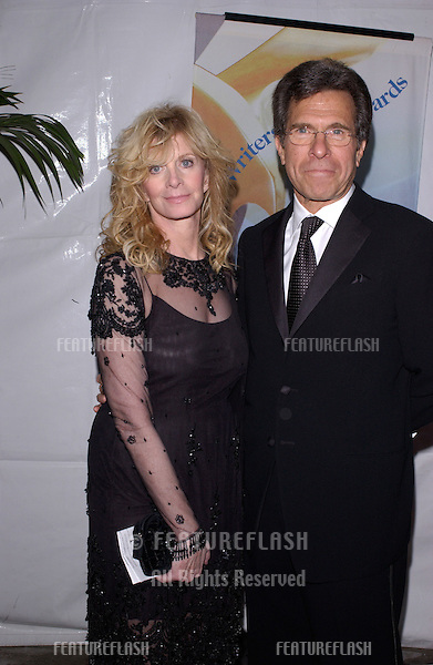 Feb 19, 2005: Los Angeles, CA:  Writer SUSAN HARRIS & husband producer PAUL JUNGER WITT at the Writers Guild Awards in Hollywood.