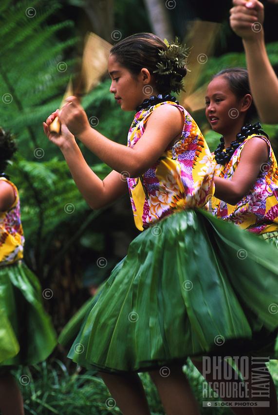 A Lei Day performance at the Hilton Hawaiian Village Hotel by the keiki of Halau Hula O Hokulani