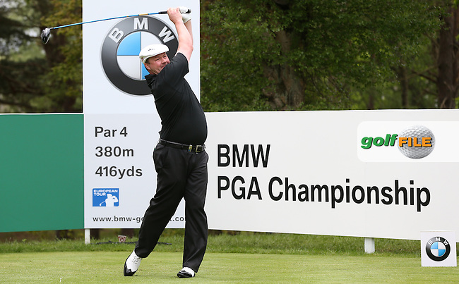 Chris Doak (SCO) during Round Two of the 2015 BMW PGA Championship over the West Course at Wentworth, Virginia Water, London. 22/05/2015Picture David Lloyd, www.golffile.ie.