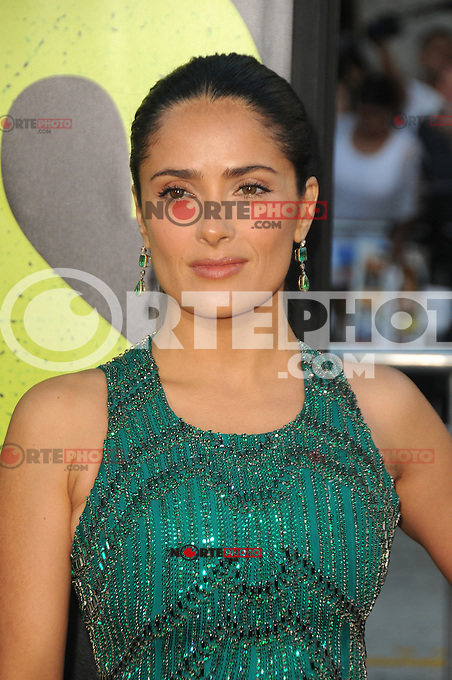 Salma Hayek at the Premiere of Universal Pictures' 'Savages' at Westwood Village on June 25, 2012 in Los Angeles, California. ©mpi35/MediaPunch Inc. /NORTEPHOTO* **SOLO*VENTA*EN*MEXICO** **CREDITO*OBLIGATORIO** **No*Venta*A*Terceros** **No*Sale*So*third** *** No*Se*Permite Hacer Archivo** **No*Sale*So*third** *Para*más*información:*email*NortePhoto@gmail.com*web*NortePhoto.com*