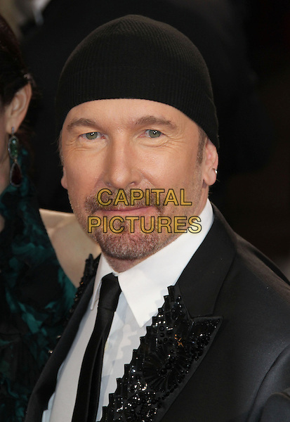 02 March 2014 - Hollywood, California - The Edge, U2. 86th Annual Academy Awards held at the Dolby Theatre at Hollywood &amp; Highland Center. <br /> CAP/ADM/RE<br /> &copy;Russ Elliot/AdMedia/Capital Pictures