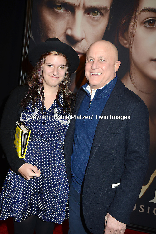 """Caleigh and Ronald Perelman attends the American Premiere of """"Les Miserables"""" on December 10, 2012 at the Ziegfeld Theatre in New York City. The movie stars Hugh Jackman, Anne Hathaway, Amanda Seyfried, Eddie Redmayne, Russell Crowe, Samantha Barks, Isabelle Allen and Sacha Baron Cohen."""