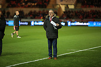 during the Guinness PRO14 match between Scarlets and Cardiff Blues at Parc Y Scarlets Stadium, Llanelli, Wales, UK. Saturday 28 October 2017